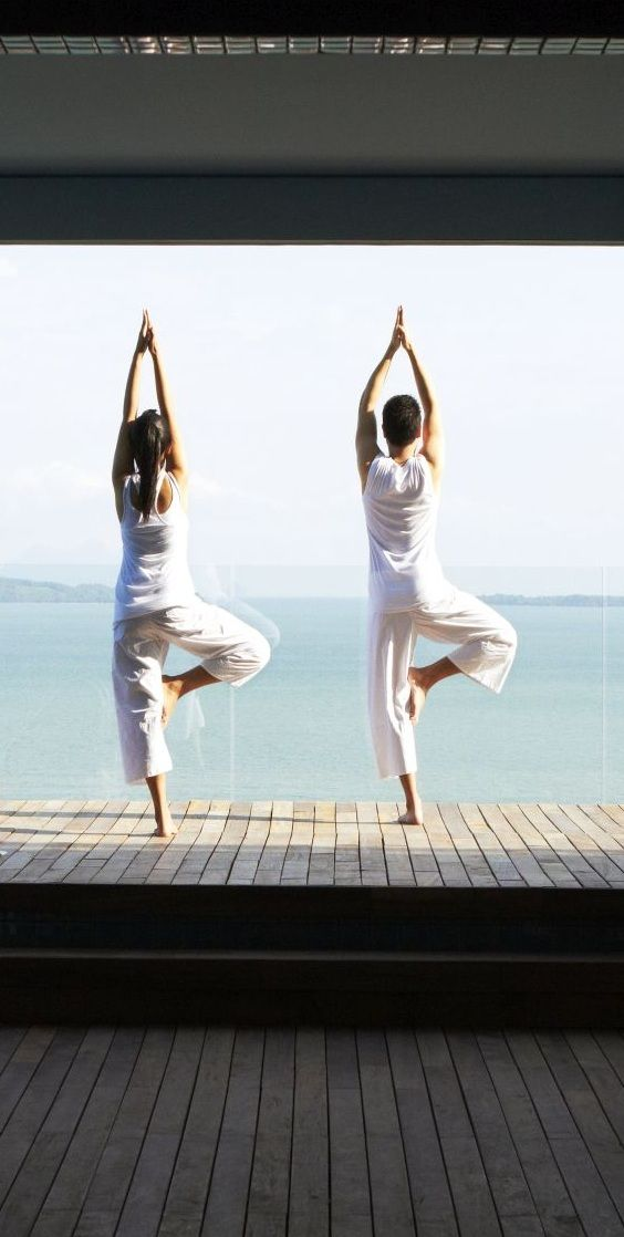Yoga in Point Yamu by COMO, Phuket.