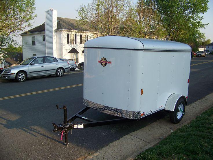 small cargo trailer, craft show trailer