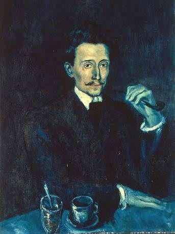 Portrait of Benet Soler  Pablo Picasso. 1903