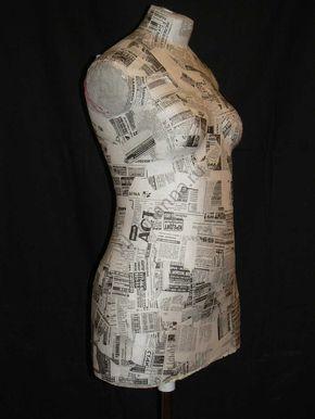 Манекен своими руками - «Ретро стиль, мода и шитье»