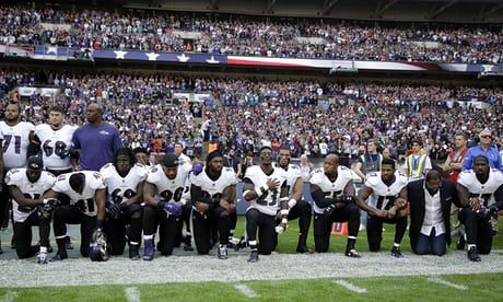 NFL owners 'are afraid of their players, and I think it's disgraceful' – #Trump https://www.theguardian.com/sport/2017/sep/28/trump-nfl-owners-afraid-of-players