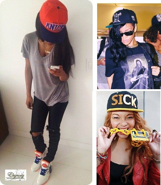 43 best images about girls can wear snapbacks too on ...