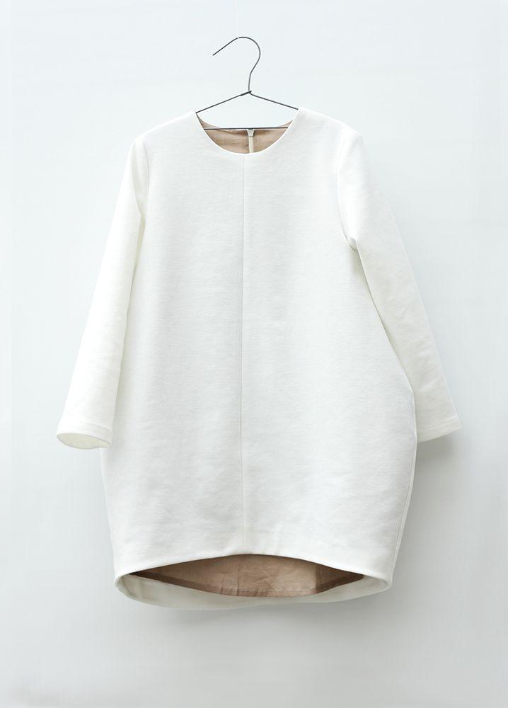 Balloon Dress White | MOTORETA