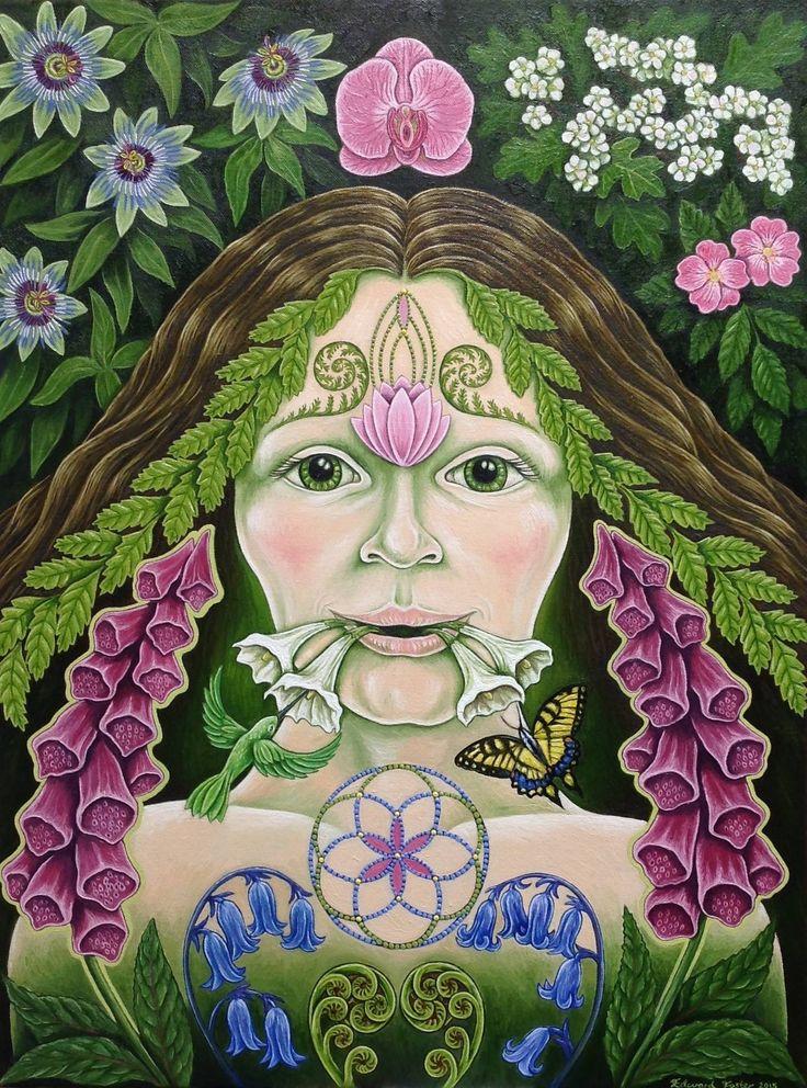 La femme verte - Huile sur toile - 18x24 pouces de - VENDU