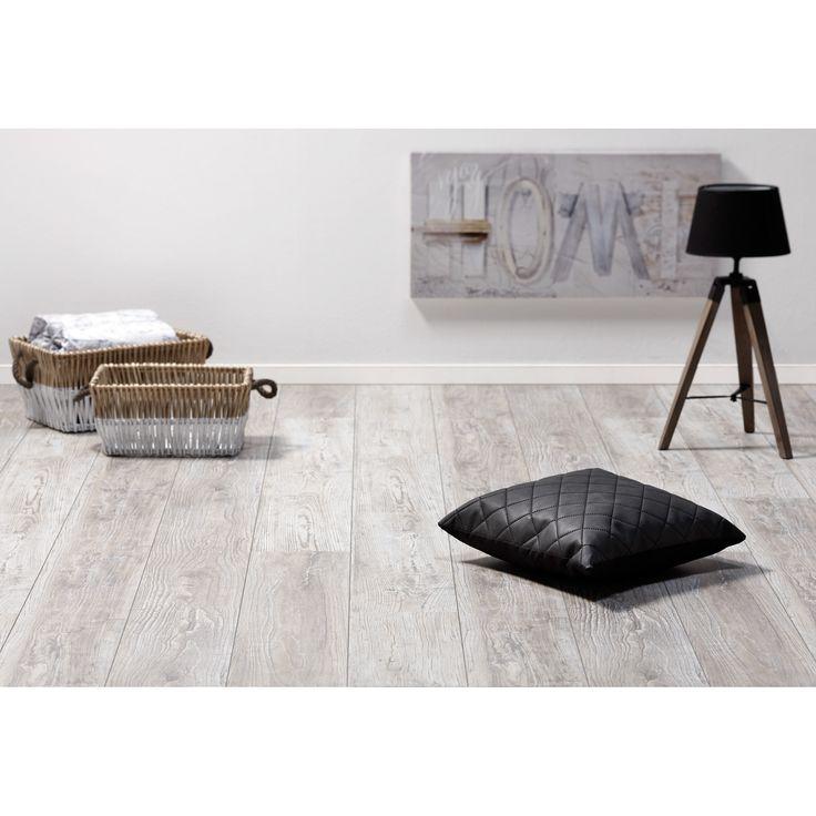 Laminaat Elmwood iep grijs. #laminaat #vloer #wonen #interieur #kwantum