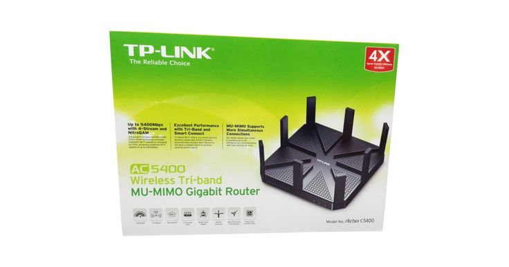 TP-Link Archer C5400 802.11ac Wireless Router Review
