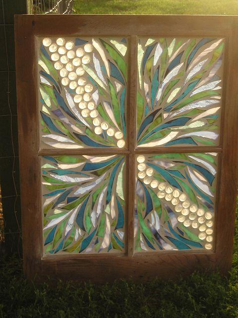 old window mosaic