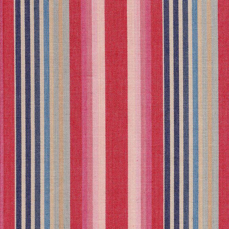 Ian Sanderson Quay Stripe-Rose Blue