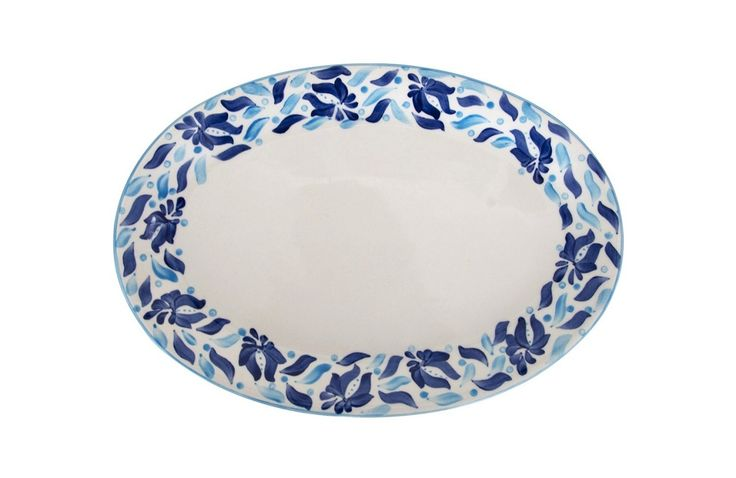 Azulina Ceramics - Azulina Oval Serving Platter