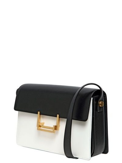 SAINT LAURENT PARIS - MEDIUM LULU TWO TONE SHOULDER BAG - LUISAVIAROMA -  FLORENCE  pursesyoucanonlybuyinparis  99b1071a4ce53