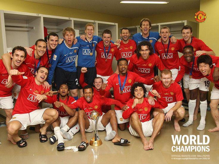 Manchester United World Champions 2008