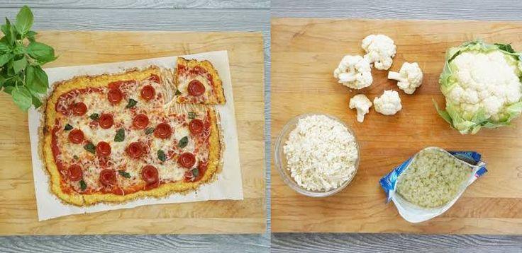 Wir haben den einfachsten Weg gefunden, eine kohlenhydratarme Pizzakruste mit Blumenkohl zuzubereiten   – Recipes