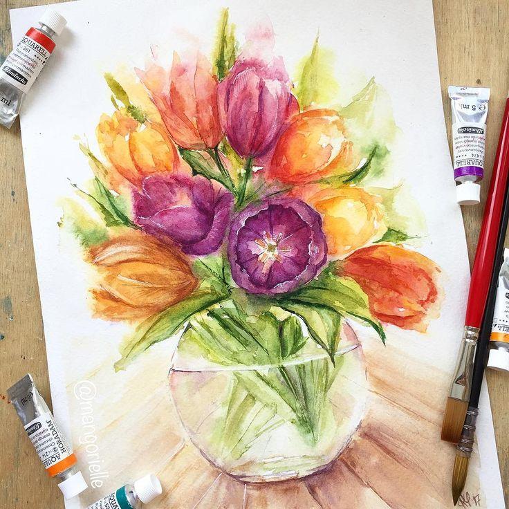 Букет тюльпанов вам в ленту! 😋🌷🔄 A bunch of tulips in you feed…