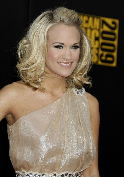 shoulder length hairdo for prom - Google Search