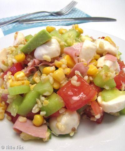 Lilluka-saláta ~ Lilla főz