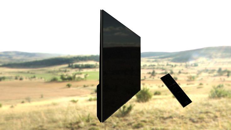 Sony Tv Remote Obj Free - 3D Model