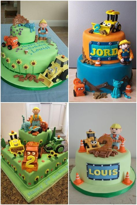 Cake Decorating Theme Kits : Best 20+ Bob the builder cake ideas on Pinterest Construction cake smash, Bob the builder and ...