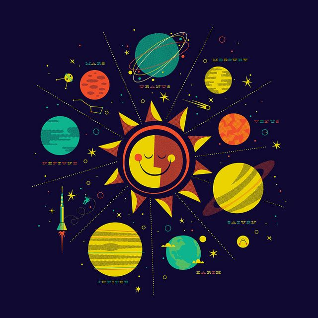 25 best ideas about solar system diagram on pinterest for Outer space stage design