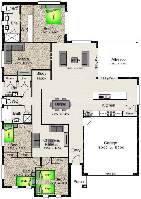 50 best floor plans images on pinterest floor plans for Highgrove house floor plan