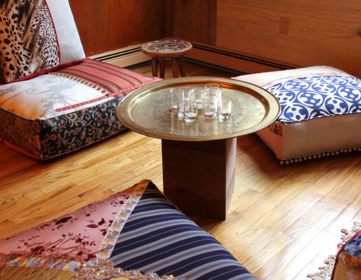 Persian Style Floor Cushions