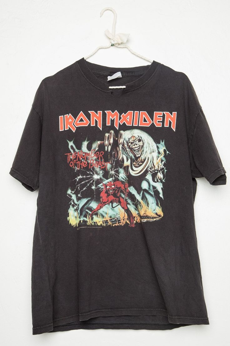 Vintage Iron Maiden Shirts 89
