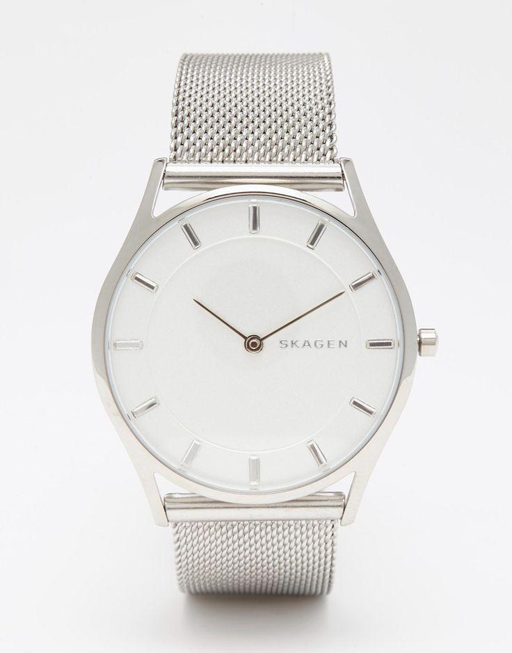 Skagen Silver Holst Watch
