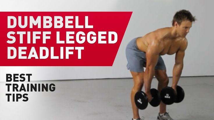 Dumbbell Stiff Legged Deadlift | Prozis TV