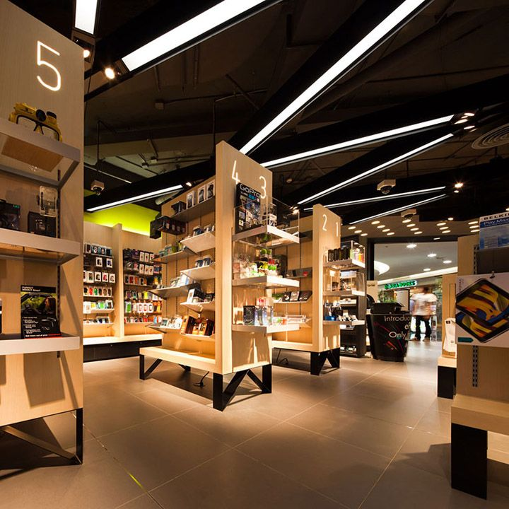 .Life store in Thailand designed by Whitespace