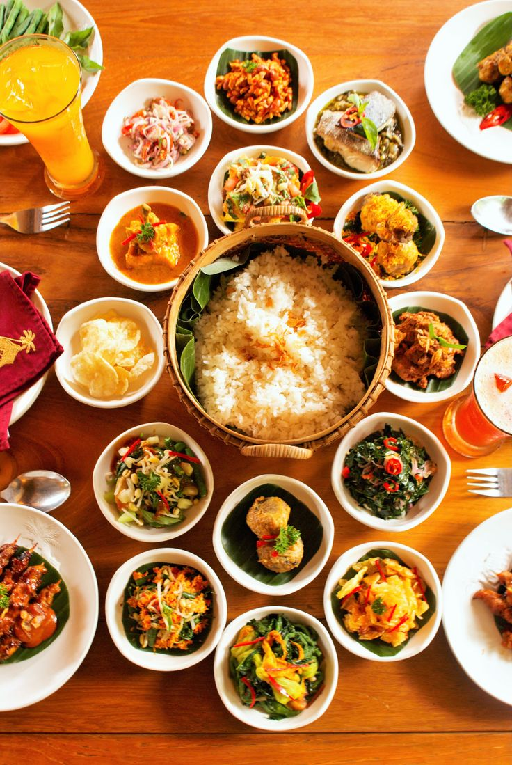 Indonesian Traditional Rijsttafel