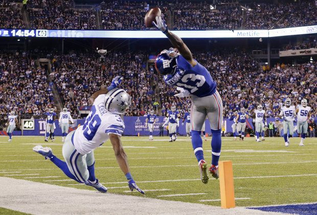 NFL Schedule 2015: The Odell Beckham effect and Giants' lack of travel NFL schedule  #NFLschedule