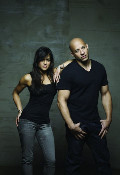 Letti & Dom Fast and the Furious. My favorite man :) love me some Vin Diesel!