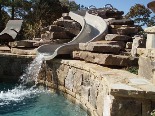 Etonnant Water Boom Slide Pool From Ambiance Outdoors