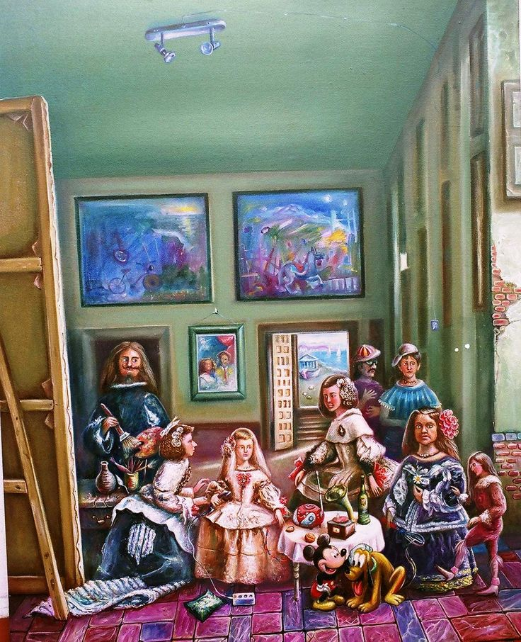 LAS MENINAS PARA NIÑOS. Explicació min de los personajes del cuadro. Las Meninas o La Familia de Felipe IV es un magnífico cuadro de Diego Velázquez 1656. Descripción de los personajes de las meninas para Educación Primaria. Versiones infantiles de las meninas. Muy divertidas. Las Meninas para colorear.