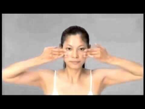 Японский массаж лица русский перевод) - YouTube