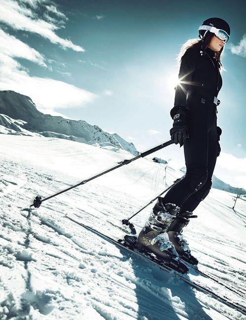 L'un de mes sports préférés, le ski !! Bientôt l'hiver, place au ski. Sport pas donné à tout le monde mais à essayer au moins une fois dans sa vie, en plus il se pratique dans un milieu à couper le souffle...