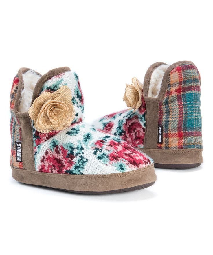Love this Rose Pink Pennley Slipper Bootie - Kids & Women by MUK LUKS on #