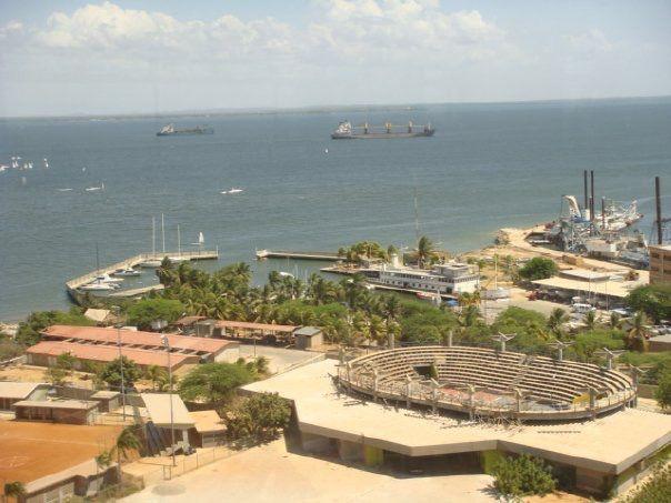 Vista del Lago de Maracaibo desde el Restaurant del hotel Paseo