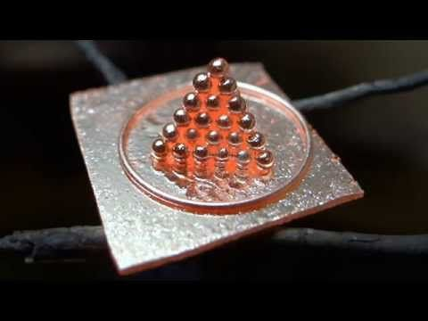 Ionising salt for ancient goldsmiths soldering - YouTube