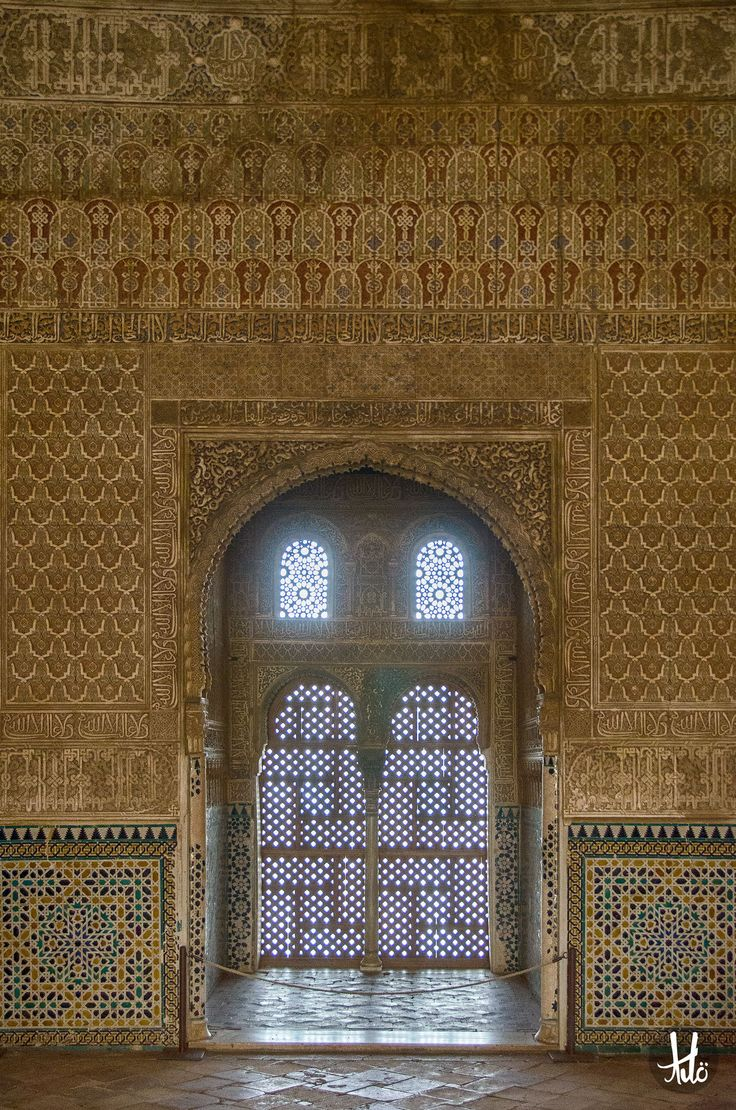 The Alhambra (the Red Castle), Spain