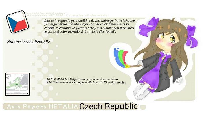 Czech republic bio by Mirai-Shooker-Hetali on deviantART
