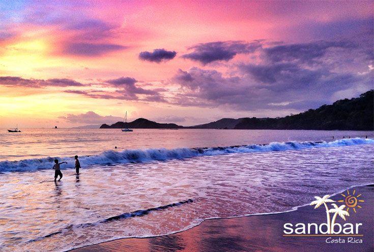 Sandbar is located in beautiful Playa Hermosa, Guanacaste, Costa Rica. #CostaRica #PuraVida #Sunsets #Guanacaste #Beaches #Beach #Playa #Travel #Vacation #Paradise