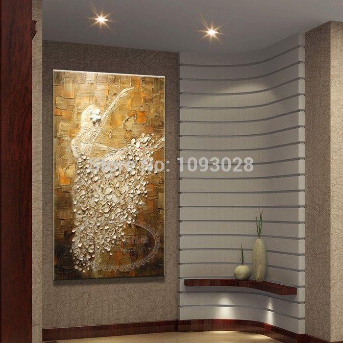 gros pas cher de paintingson d 39 huile toile ballet peinture abstraite le salon d coration murale. Black Bedroom Furniture Sets. Home Design Ideas