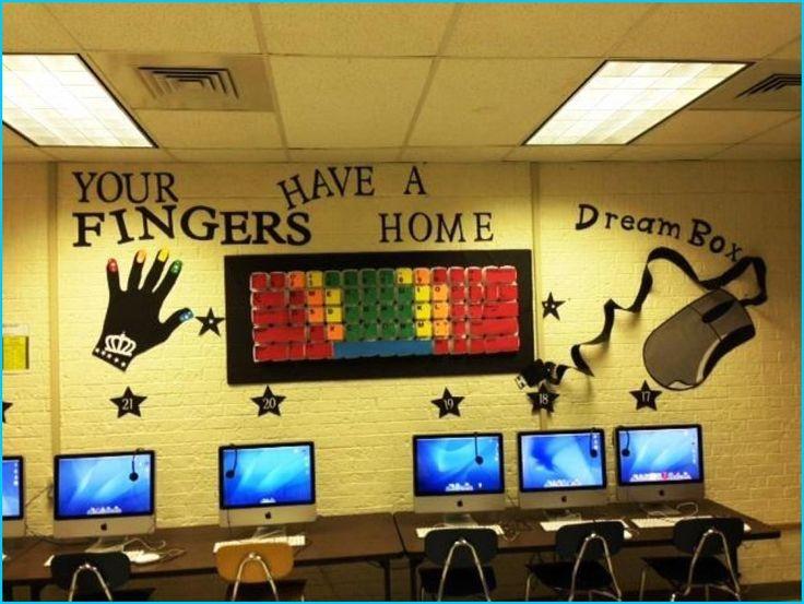 Computer Classroom Decoration Ideas ~ Computer lab decorations home build designs classroom