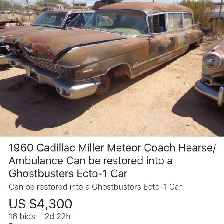 For my hearse with fins fans this 1960  is on EBay right now .
