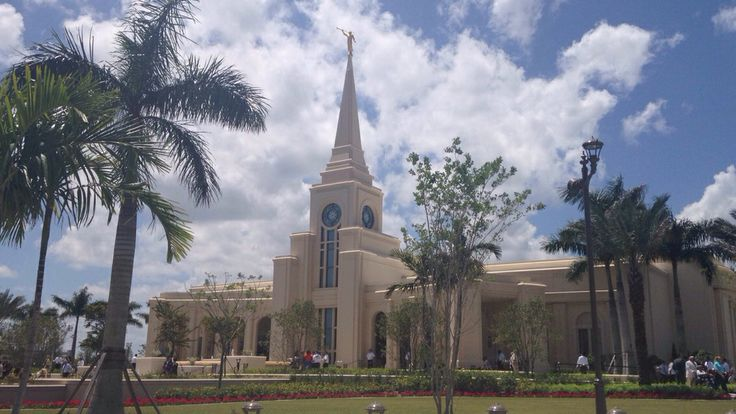 The new temple in Fort Lauderdale, Fl! The open house was such a spiritual experience!