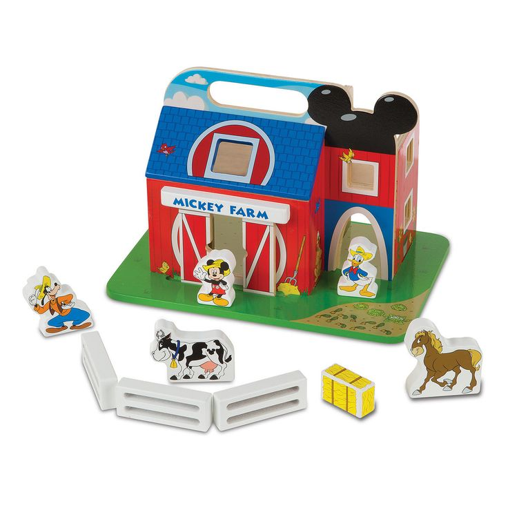Mickey Mouse Clubhouse On the Farm Wooden Barn Set by ...