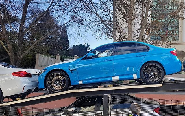 Wednesdaywant With The First Mexico Blue Individual Bmw M3 Competition In South Africa Via Littlejohnwhittle Exoticspo Mexico Blue Bmw M3 South Africa