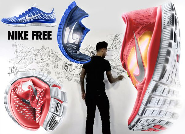 ever wonder how they created nike free?