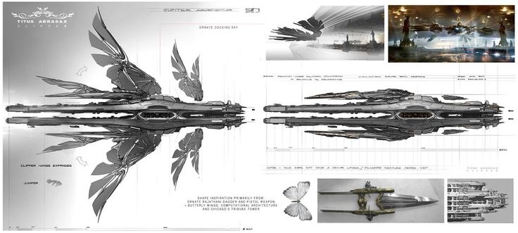 The spectacular science fiction concept art of Jupiter Ascending   The Verge