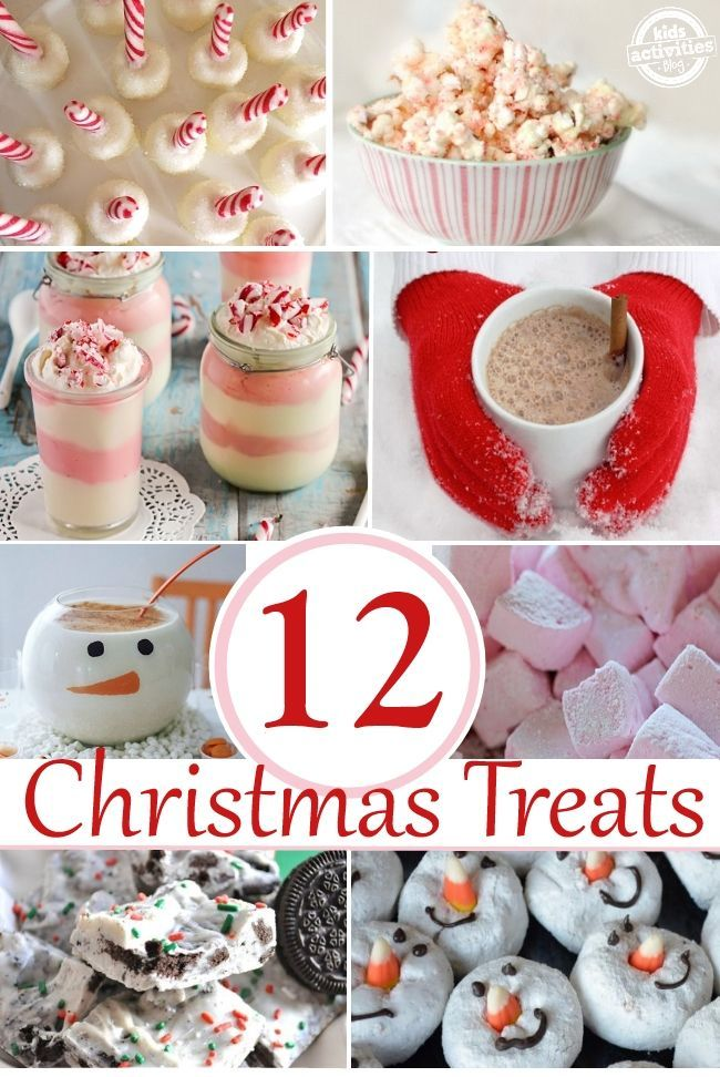 12 Tasty Christmas Treats - you don't even have to wait till Christmas to make them!!